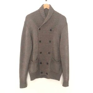 AllSaints Double Breasted Cardigan MED